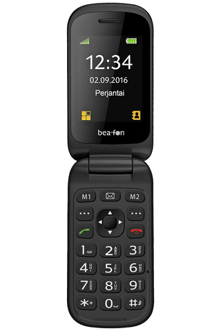 Beafon SL470 puhelin isoilla näppäimillä ja SOS-painikkeella
