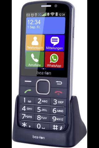 Beafon Sl820 3g Senioriälypuhelin, Musta