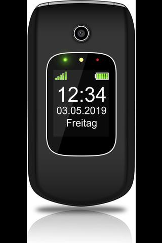 Beafon SL640i puhelin musta