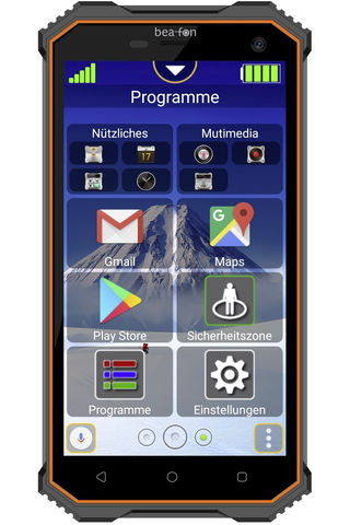 Beafon X5 älypuhelin kovaan käyttöön