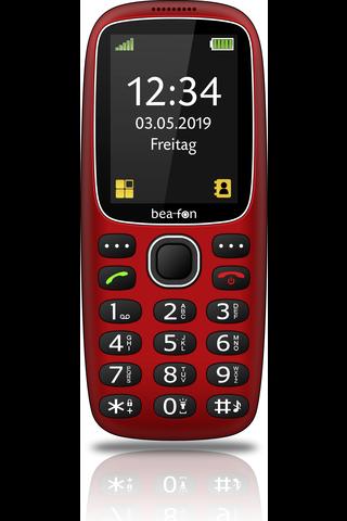 Beafon SL360i puhelin punainen