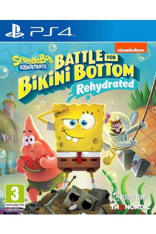 PS4 Spongebob Squarepants: Battle for Bikini Bottom Rehydrated