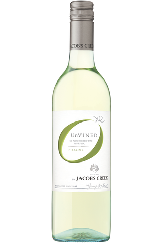 Jacob´s Creek 750ml Riesling alkoholiton valkoviini 0,5%