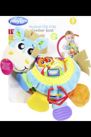 Playgro vauvan aktivointikirja Clip Clop