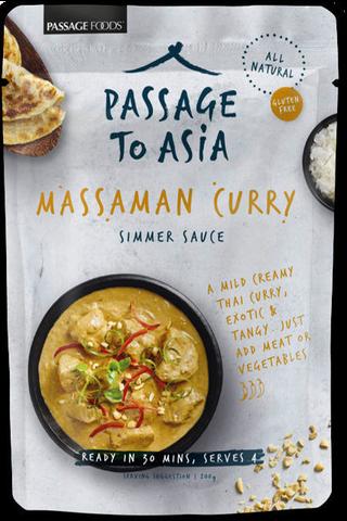 Passage to Asia 200g massaman curry ateriakastike