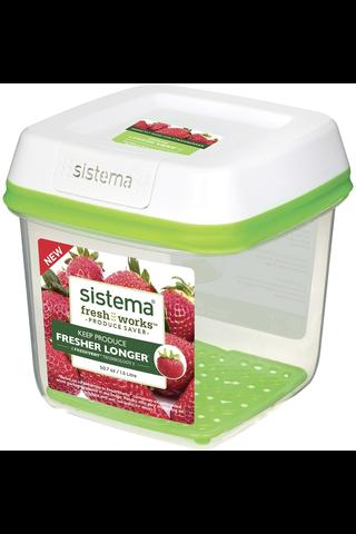 Sistema FreshWorks säilytysrasia 1,5l