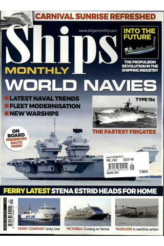 Ships Monthly aikakauslehti
