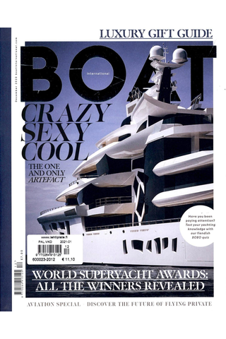 Boat International aikakauslehti