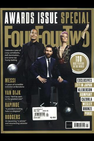 Four Four Two aikakauslehti