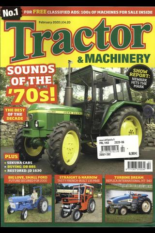 Tractor & Machinery aikakauslehti