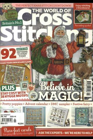 World Of Cross Stitching aikakauslehti