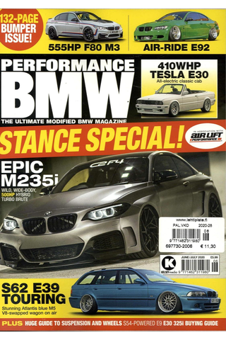 Performance Bmw aikakauslehti