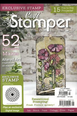Craft Stamper käsityölehti