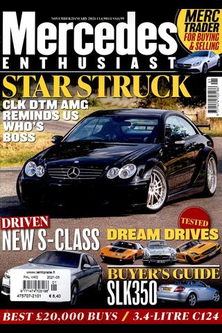 Mercedes Enthusiast aikakauslehti