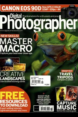Digital Photographer aikakauslehti