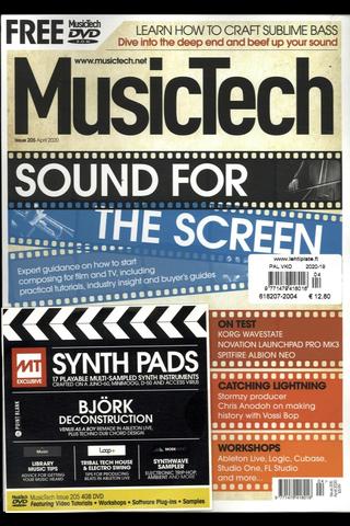 Music Tech Magazine aikakauslehti
