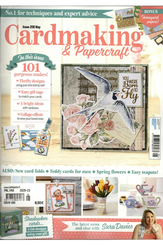 Cardmaking & Papercraft aikakauslehti