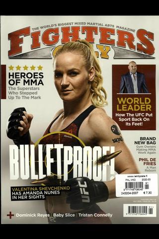 Fighters Only aikakauslehti
