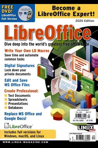 Linux Magazine Special aikakauslehti