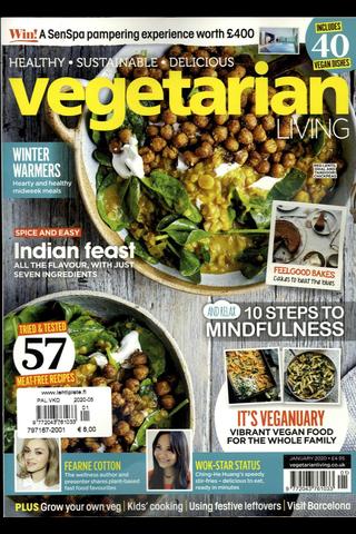 Vegetarian Living aikakauslehti