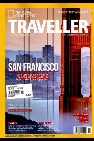 National Geographic Traveller aikakauslehti