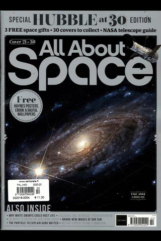 All About Space aikakauslehti