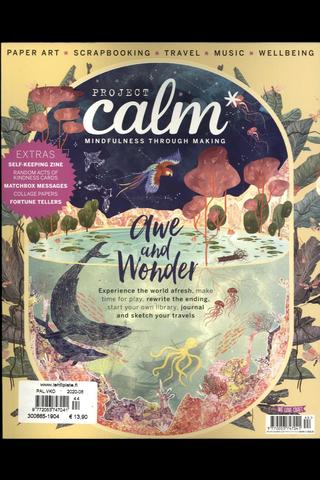 Project Calm aikakauslehti