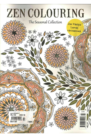 Zen Colouring värityskirja