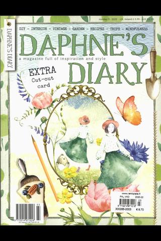 Daphne's Diary käsityö- & askartelulehti