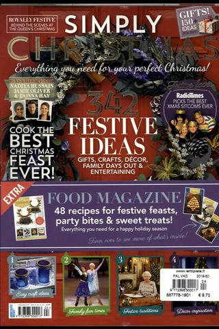 Simply Christmas aikakauslehti