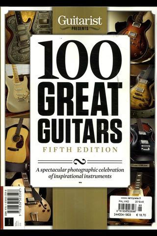 Guitarist Presents Bookazine kirja
