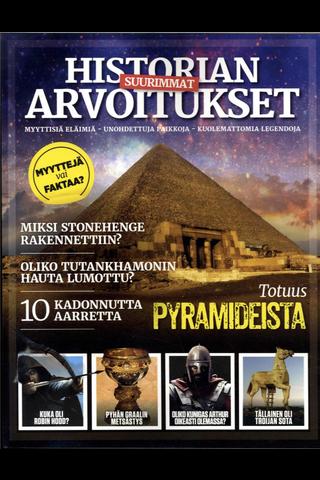 Historia Bookazine Historian suurimmat arvoitukset bookazine