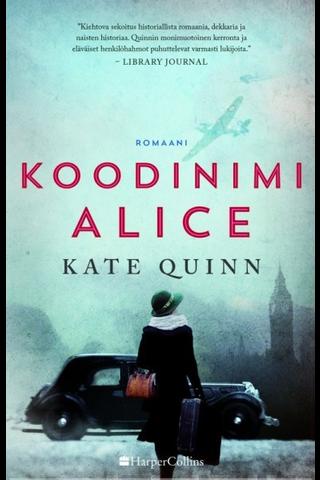 Quinn, Kate: Koodinimi Alice Kirja