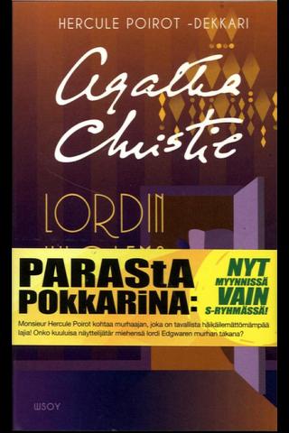 Christie, Agatha: Lordin kuolema pokkari