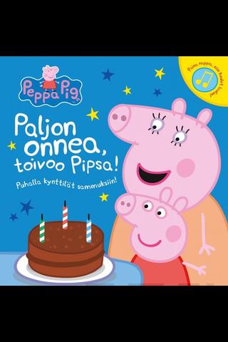 Paljon onnea, toivoo Pipsa