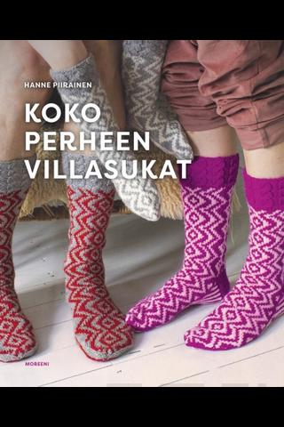 Otava Hannele Piirainen: Koko perheen villasukat