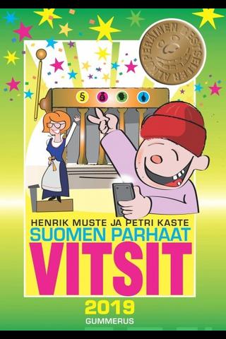 Gummerus Henrik Muste & Petri Kaste: Suomen parhaat vitsit 2019