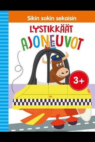 Gummerus Pirkko Roinila (suom.): Sikin sokin sekaisin - Lystikkäät ajoneuvot