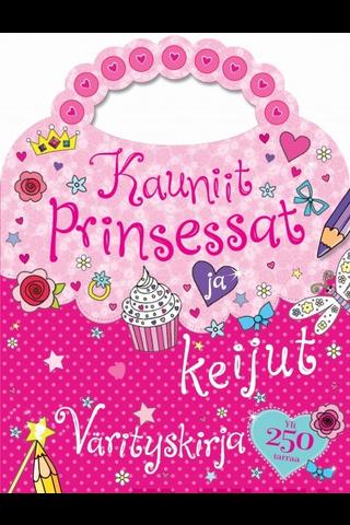 Gummerus Heli Venhola (suom.): Kauniit prinsessat ja keijut - värityskirja