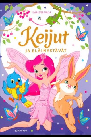 Gummerus Anni Karhuvuori: Keijut ja eläinystävät - värityskirja