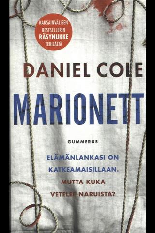 Gummerus Daniel Cole: Marionetti