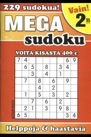 Mega-Sudoku kirja