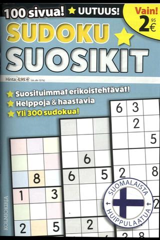 Sudoku-Suosikit kirja