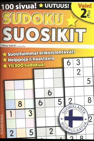 Sudoku-Suosikit lehti