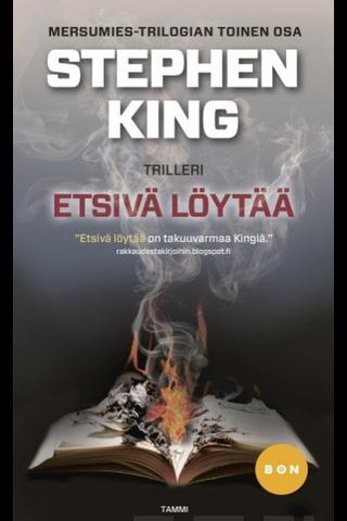 King, Stephen: Etsivä löytää Kirja