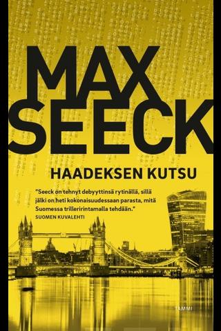 Seeck, Max: Haadeksen kutsu Kirja