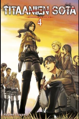 Tammi Hajime Isayama: Titaanien sota 4 -sarjakuvakirja