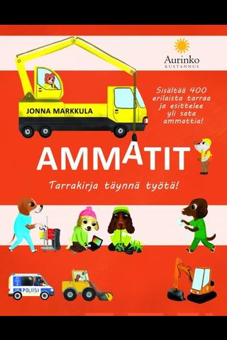 Aurinko Kustannus Jonna Markkula: Ammatit tarrakirja