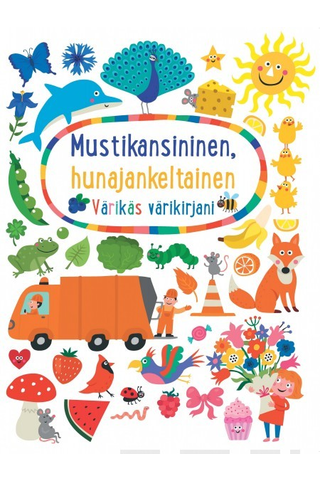 Aurinko Kustannus Tanja Kanerva (suom.): Mustikansininen, hunajankeltainen