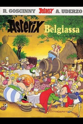 Asterix -sarjakuva-albumi Asterix Belgiassa, lasten kirjat